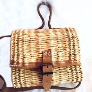 bolso artesanal junquillo