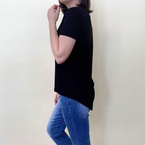 camiseta negra romeo