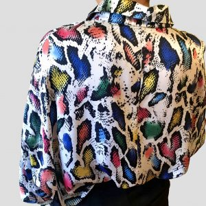 camisa animal print color