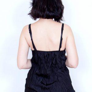 lencera tirante negra