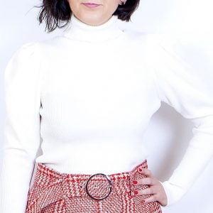 jersey canale blanco cuello