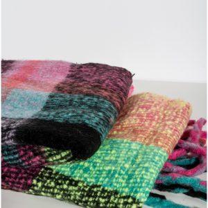 bufanda cuadros colores
