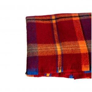 bufanda rectangular naranja