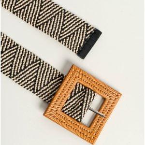 cinturon elastico zigzag
