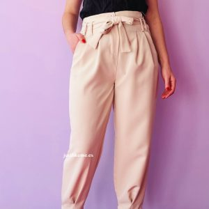 pantalon lazada beige